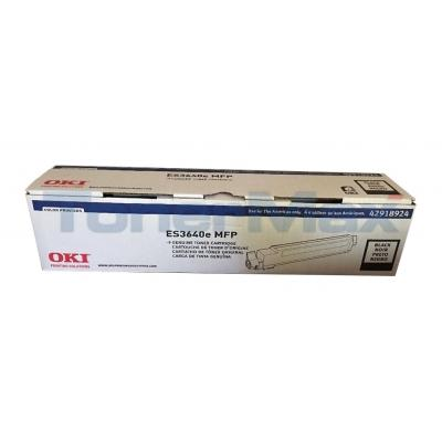 OKIDATA ES3640E TONER CARTRIDGE BLACK